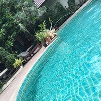 Photo taken at BaanKlangAow Beach Resort by Mild on 7/30/2016