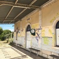 Photo taken at Estação Ferroviária de Sabugo by Manuel O. on 6/4/2017