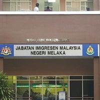 Photo taken at Jabatan Imigresen Malaysia - Melaka by Hafizuddin K. on 4/18/2016