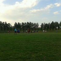 Photo taken at Mindenki Sportpályája by Gy Z. on 7/19/2013