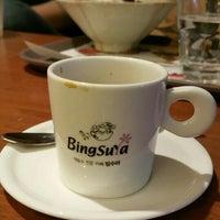 Photo taken at Cafe Bingsuya (Cafe 빙수야) by Jonny S. on 5/13/2015