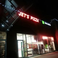 Photo taken at Jet's Pizza by Sandy M. on 1/13/2014
