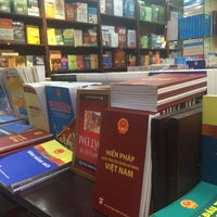 Photo taken at Fahasa Nguyễn Huệ Bookstore by Ha P. on 6/26/2016