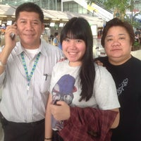 """Photo taken at Check-In Row """"R"""" by ปรีตินุช พ. on 3/24/2014"""