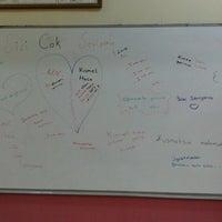 Photo taken at ticaret ve sanayi odası ortaokulu by Kısmet D. on 11/27/2013