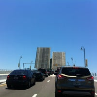 Photo taken at Johns Pass Bridge by Donnie D. on 5/14/2013