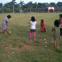 Photo taken at Lapangan Mataram by prasetiyo w. on 4/27/2014