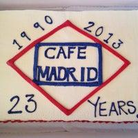 Photo taken at Café Madrid by Eduardo G. on 1/18/2013