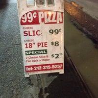 Photo taken at 99¢ Pizza Spot by Jon G. on 11/20/2013