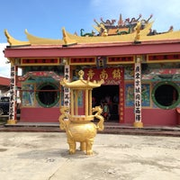 Photo taken at Chinese Temple Kinarut by Azuwyahtyy on 11/23/2013