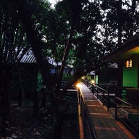 Photo taken at Khao Sok River Lodge Restaurant by Dimi S. on 1/18/2014