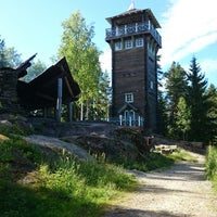Photo taken at Karstulan Näkötorni by tuomas p. on 7/12/2014