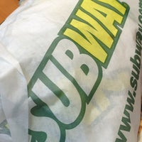Photo taken at SUBWAY® by Kim M. on 5/24/2013