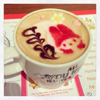 8/16/2014에 Haruka H.님이 ハローキティカフェ / THE GUEST cafe&diner에서 찍은 사진