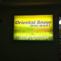 Photo taken at Oriental Snow Mini Mart by Tasha M. on 7/24/2013