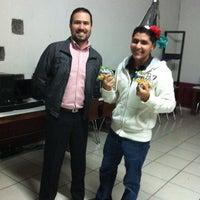 Photo taken at Instituto Benjamín Franklin by Arturo L. on 12/19/2013