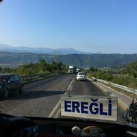 Photo taken at Zonguldak - Ereğli Yolu by Serdar Y. on 8/6/2013