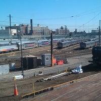 Photo taken at Sunnyside Yard by Hesh M. on 8/6/2013