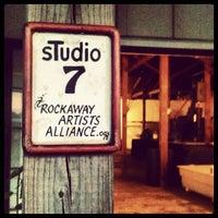 Photo taken at Rockaway Artists Alliance sTudios 6 & 7 by Hesh M. on 11/8/2012