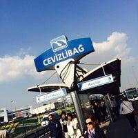 4/14/2014 tarihinde Tahsin A.ziyaretçi tarafından Cevizlibağ Metrobüs Durağı'de çekilen fotoğraf