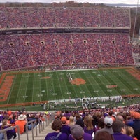 Photo taken at Frank Howard Field at Clemson Memorial Stadium by Dean R. on 11/23/2013