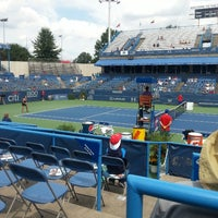 Photo taken at Citi Open Tennis Tournament by DrCNotes on 7/30/2013