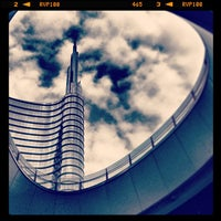 Photo taken at Unicredit Tower by Maurizio R. on 7/19/2013