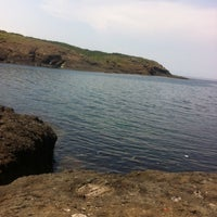 Photo taken at Kayalık Beach by Duygu B. on 6/14/2014