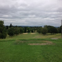 Photo taken at Broadmoor Golf Course by Jacob C. on 7/28/2013