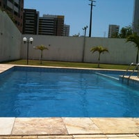 Photo taken at Piscina Do Calhau Residence by Ana T. on 10/8/2012