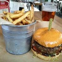 Photo taken at 8oz Burger Bar by Anna S. on 7/22/2013