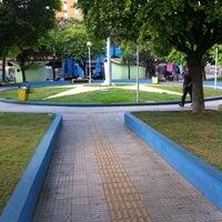 Photo taken at Praça Coronel Ribeiro by Hellen M. on 8/28/2013