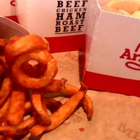 Photo taken at Arby's by BeerGeekATL E. on 11/15/2016