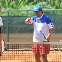 Photo taken at Club de Tenis El Palmar by Polowskii P. on 8/6/2013