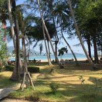 Photo taken at Kaw Kwang Beach Resort by Lucian on 3/29/2016