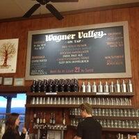 Photo taken at Wagner Vineyards by Naureen K. on 12/12/2012