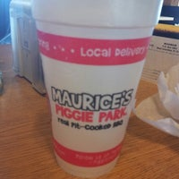 Photo taken at Maurice's BBQ Piggie Park by Short K. on 12/21/2012