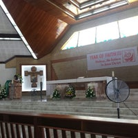 Photo taken at Mary Queen of Apostles Parish by Omeh Teshi P. on 10/13/2013