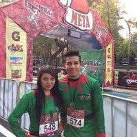 Photo taken at Christmas Run by Alejandro B. on 12/15/2013