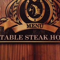 Photo taken at Stable Steak House by ferfarfer on 7/16/2014