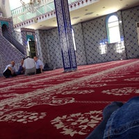 Photo taken at 2.Sanayi Camii by Talha İ. on 6/30/2014
