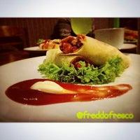 Photo taken at Freddo Fresco Ice & Cafe by ika p. on 9/21/2014