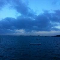 Photo taken at Sandbanks Hotel by Emili B. on 1/29/2014