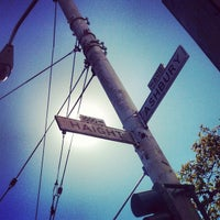 Photo taken at Haight-Ashbury by Laura C. on 9/29/2012