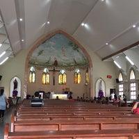 Photo taken at Gereja Katholik Santa Maria by NeLLy M. on 12/11/2016