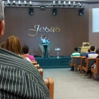 Photo taken at Igreja Batista da Lagoinha by Wellington R. on 8/20/2014