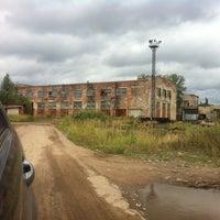 Photo taken at Завод красок Отрадное by Дима H. on 8/27/2014