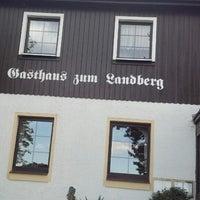 Photo taken at Gasthof zum Landberg by Thomas B. on 8/26/2013