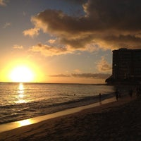 Photo taken at Waikīkī Beach by Vimella ™. on 2/26/2013
