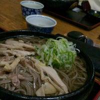 Photo taken at そば処 えびす by Toru K. on 11/17/2015